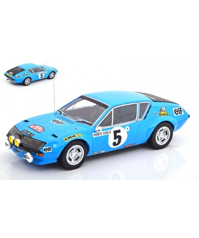 ALPINE RENAULT A 310 N.5 ACCIDENT MONTE CARLO 1975 J.THERIER-VIAL 1:18