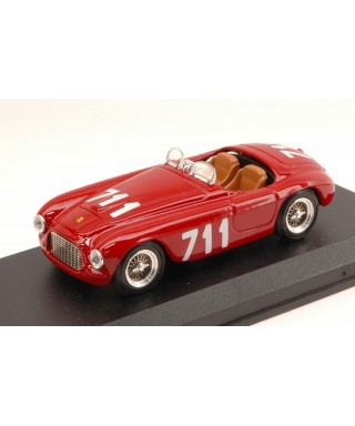 FERRARI 166 MM SPYDER N.711 4th MM 1950 BRACCO-MAGLIOLI 1:43