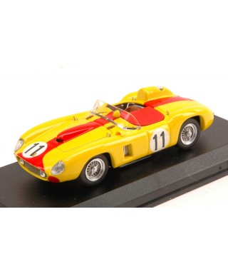 FERRARI 290 MM N.11 RETIRED LM 1957 J.SWATERS-A.DE CHANGY 1:43