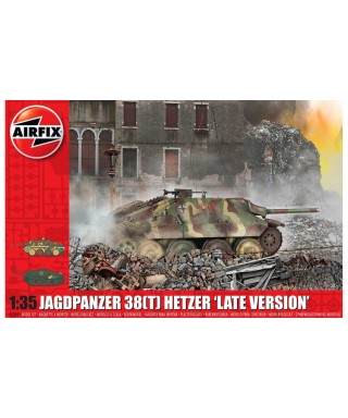 JAGDPANZER 38 t HETZER LATE VERSION KIT 1:35