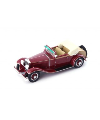 SIMSON SUPRA 18/90 TYPE A 1924 RED 1:43