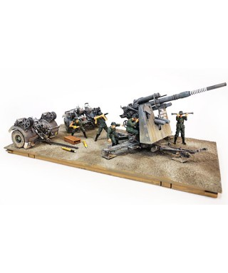DIV.SET GERMAN 8.8 cm FLUGABWEHRKANONE 36/37 GUN 1:32