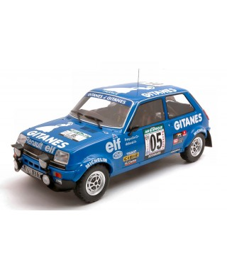 RENAULT 5 ALPINE N.5 RALLY BANDAMA 1978FREQUELIN-DELAVAL 1:18