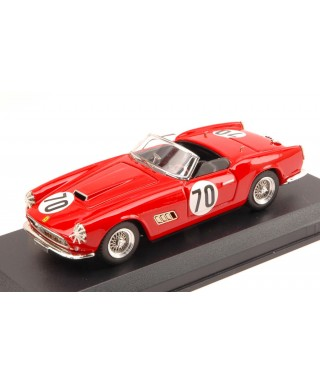 FERRARI 250 CALIFORNIA N.70 9th 12H SEBRING 1959 H.HIVELY-R.GHINTER 1:43