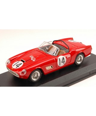 FERRARI 250 CALIFORNIA N.14 10th 12H SEBRING 1960 R.PUBLICKER 1:43