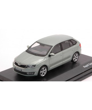 SKODA RAPID SPACEBACK 2014 ARCTIC GREEN METALLIC 1:43
