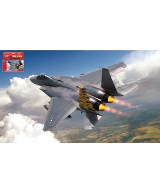 LARGE STARTER SET MCDONNELL DOUGLAS F-15A EAGLE KIT 1:72