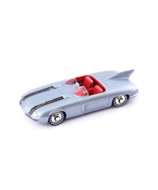 PONTIAC CLUB DE MER 1956 MET.LIGHT BLUE 1:43
