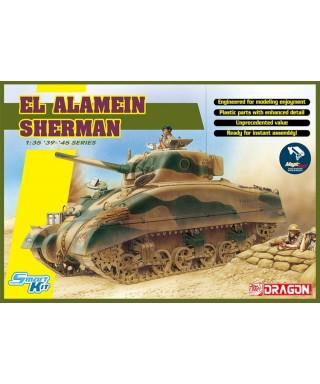EL ALAMEIN SHERMAN W/MAGIC TRACKS KIT 1:35
