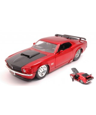 FORD MUSTANG BOSS 429 1970 RED 1:24