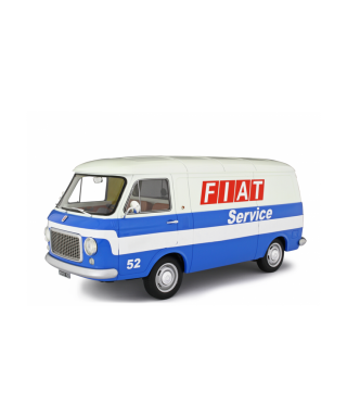 FIAT 238 FIAT SERVICE BLUE/WHITE 1:18