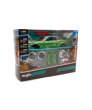 FORD MUSTANG GT 1967 KIT 1:24