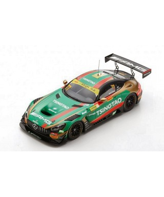 MERCEDES GT3 N.77 6th FIA GT WORLD CUP MACAU 2019 E.MORTARA 1:18