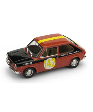 FIAT 127 N.142 RALLY DUE VALLI 1972 PINO CECCATO 1:43