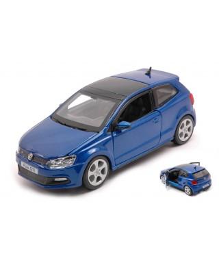 VW POLO GTI M5 BLUE 1:24