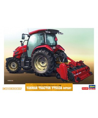 YANMAR TRACTOR YT5113A ROTARY KIT 1:35