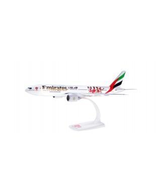 BOEING 777-200LR EMIRATES ARSENAL LONDON 1:200