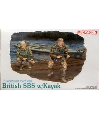 BRITISH SBS W/KAYAK KIT 1:35