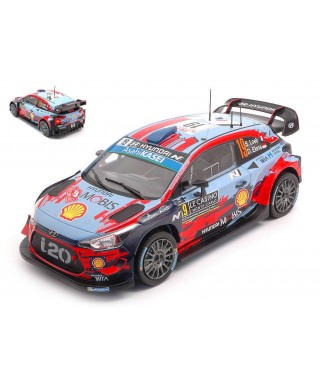 HYUNDAI i20 WRC N.19 WRC RALLY MONTE CARLO 2019 S.LOEB-D.ELENA 1:24
