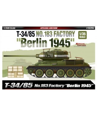 T34/85 N.183 FACTORY BERLIN 1945 KIT 1:35