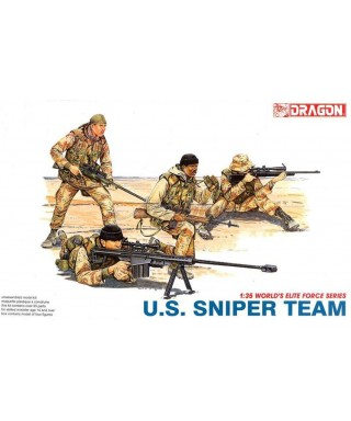 US SNIPERS TEAM 1:35