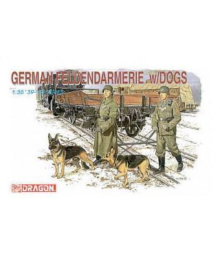GERMAN FELDGEND W/DOG KIT 1:35