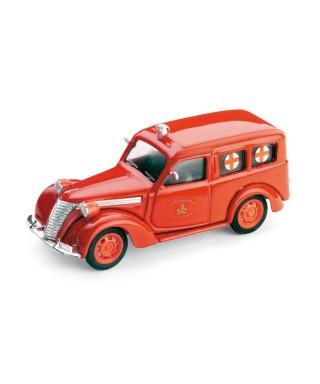 FIAT 1100 E CROCE ROSSA VDF 1:43