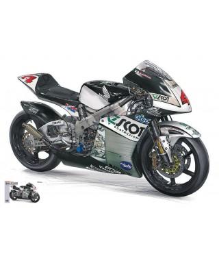 HONDA RS250RW H.AOYAMA 2009 TEAM SCOT N.4 WORLD CHAMPION 250cc KIT 1:12