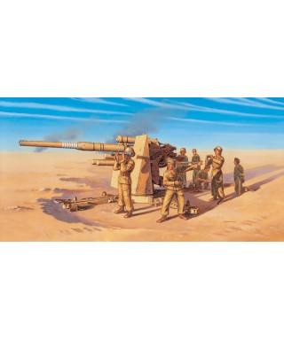 8,8 cm FLAK 37 GUN W/CREW KIT 1:72