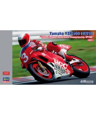 YAMAHA YZR500 OW98 ALL JAPAN RACE CHAMPION GP500 KIT 1:12