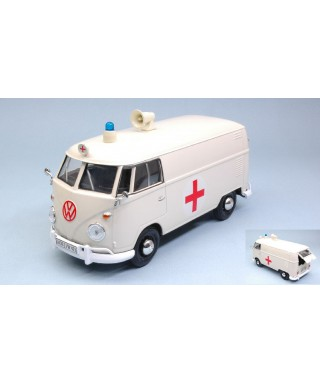 """VW TYPE 2 (T1) DELIVERY VAN """"RED CROSS AMBULANCE"""" 1:24"""