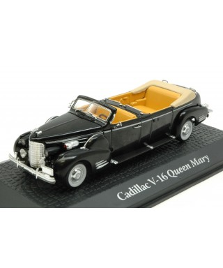 CADILLAC V-16 QUEEN MARY HARRY TRUMAN 1948 BLACK 1:43