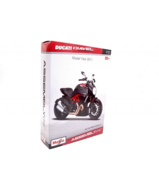 DUCATI DIAVEL CARBON KIT 1:12