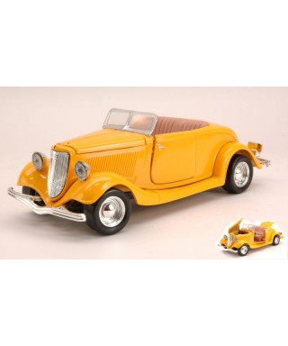 FORD COUPECONVERTIBLE 1934 YELLOW 1:24