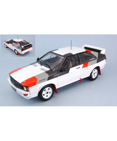 AUDI QUATTRO GROUP B CAR 1982 1:18