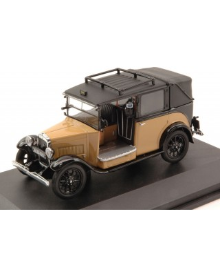 AUSTIN LOW LOADER TAXI 1935 BEIGE/BLACK 1:43