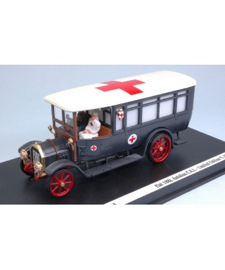 FIAT 18 BL C.R.I.C/2 FIGURE 1915 100mo ANNIV.-LA GRANDE GUERRA- 1:43