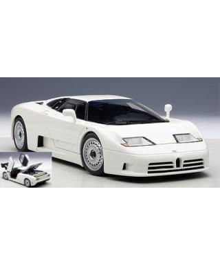 BUGATTI EB110 GT 1995 WHITE 1:18